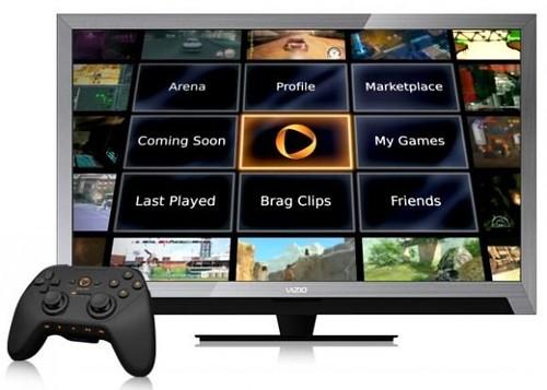 OnLive ViZio Smart TV