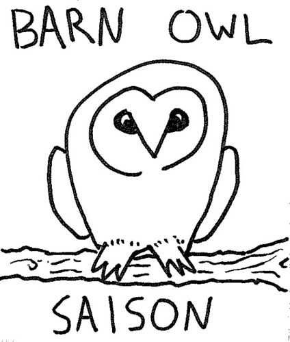 2012.01_barn owl saison label