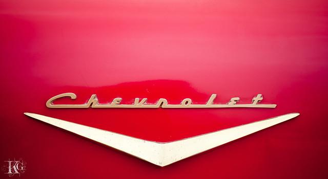 Vintage Car : Chevrolet (Logo)