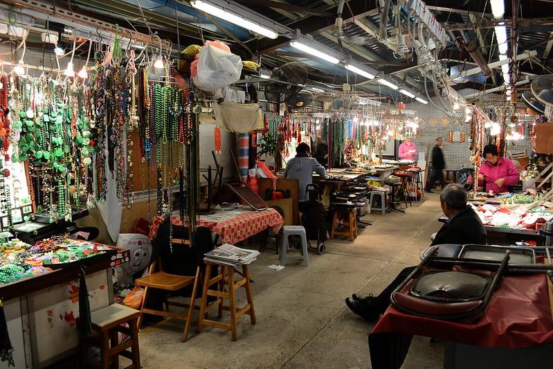 Jade Market stalls