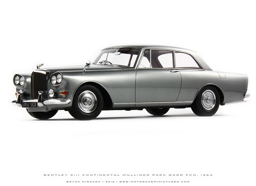 Bentley 1963 SIII Continental MPW FHC - Pewter