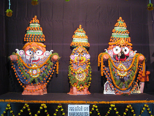 Makar Chaurashi –  Costume Of Lord Jagannath