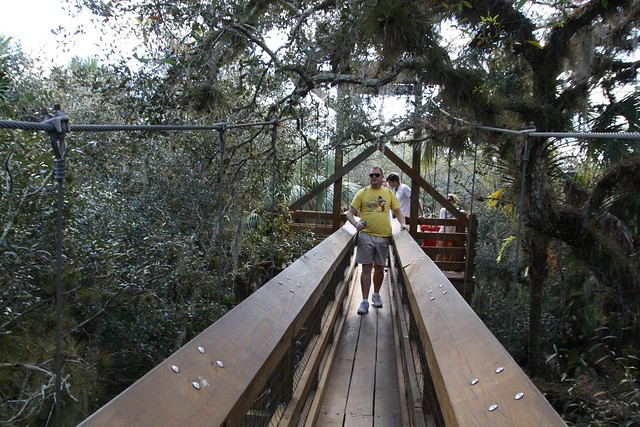 Steve on Canopy Walk