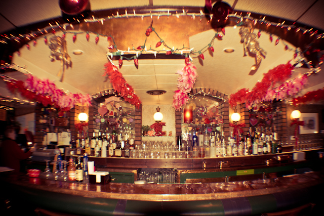 Koppper top restaurant valentines decorations january