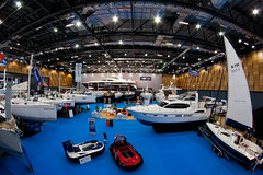 Boat show main sub-hall.