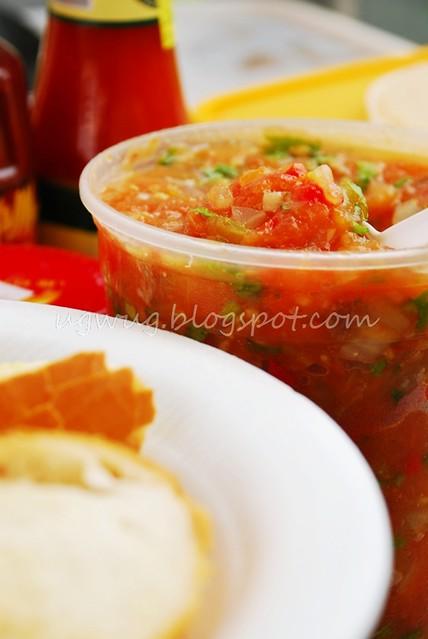 Tomato & Parsley Bruschetta