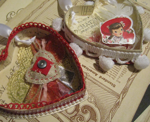 Valentine Shadow Boxes
