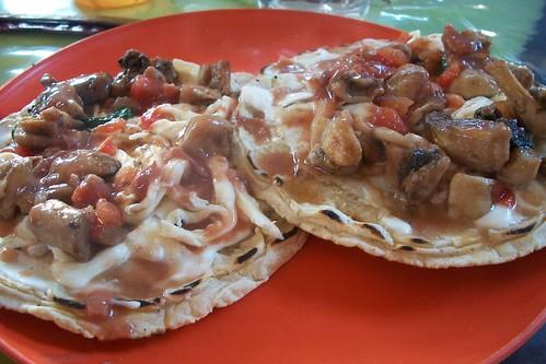 Desayunando en Juxtlahuaca