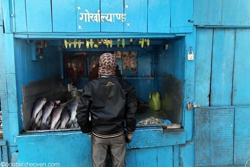 Streetside Fish Stand