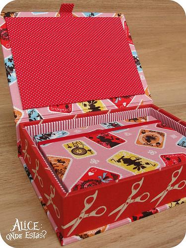 Kit: Agenda + caixa!
