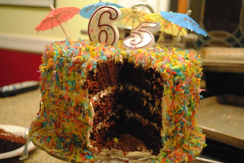 Finalist 9: Chocolate Crunch Funfetti Cake