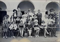 Jhansi hockey team fancy dress match 1935