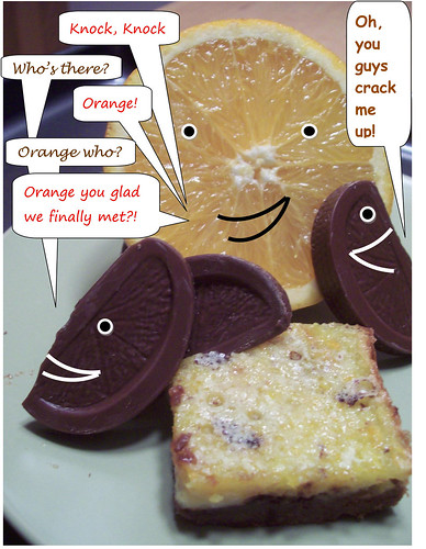 Finalist 7: Whack and Unwrap Chocolate Orange Bars
