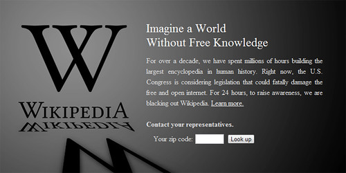 Anti SOPA dan anti PIPA | UU Pembajakan Online