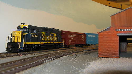 The Oak Park Society Of Model Engineers, H.O Scale Model Railroad Club.  Oak Park Illinois USA. by Eddie from Chicago