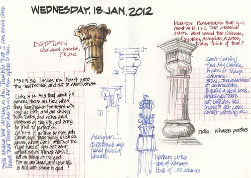 120118 Columns for my Egyptian, Assyrian(?) and Indian friends