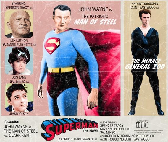 Cinema em um mundo paralelo - superman