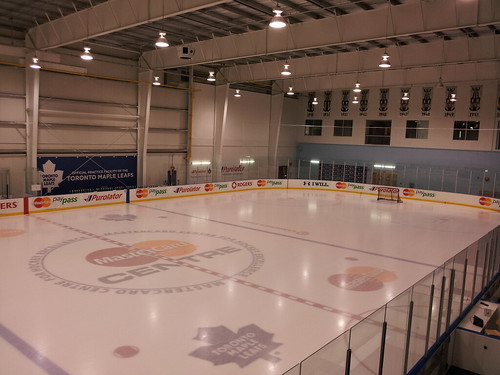 Leafs practice facility at MasterCard Centre #pricelessTO
