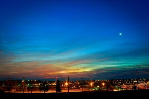 sky sun skyline clouds sunrise canon xsi lent454