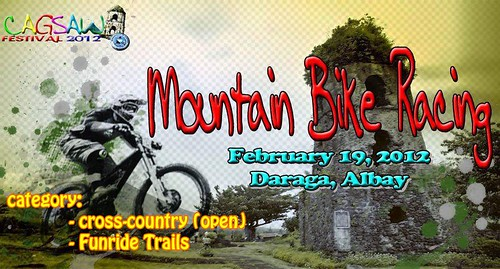 1st Cagsawa Festival Mountain Bike Race 2012