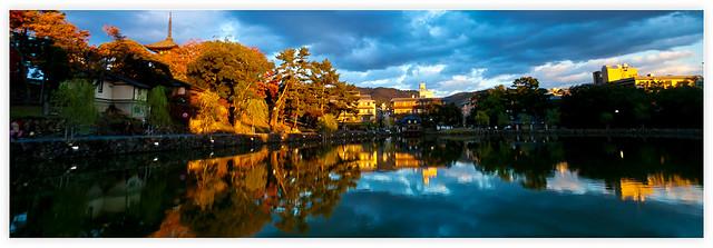 奈良猿潭池