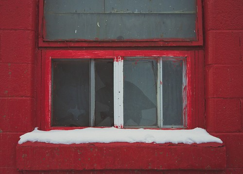 Red Red Window by Krista Kruger