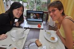 Conferència amb la Nina a Taiwan