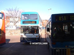 15201 F301 MYJ Volvo B10M-50 Citybus Northern Counties. Paris Street Bus & Coach Station EXETER 1