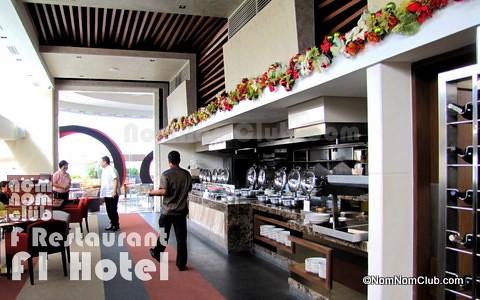 F Restaurant, F1 Hotel