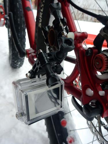 GoPro Hero Rear Wheel Mount