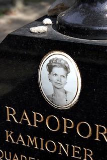 Photo Ceramic of the Paintress Stella Rapoport