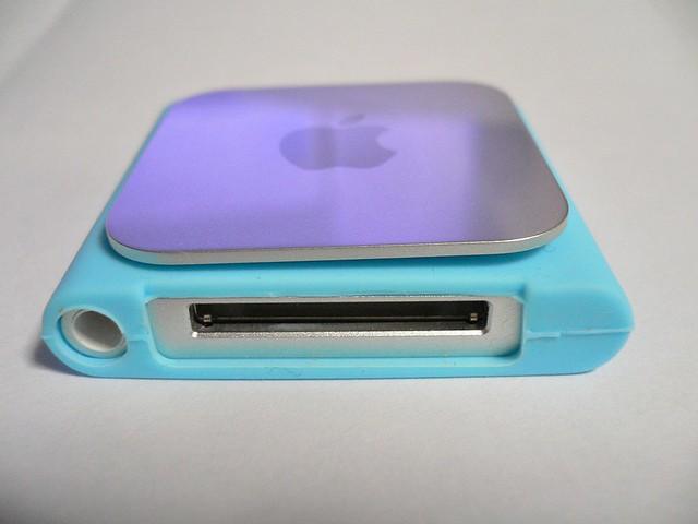 iPod nano 6th シリコーンジャケット(ダイソー)