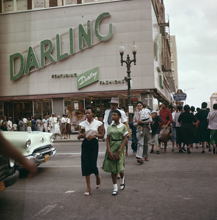 Street in Houston 1956