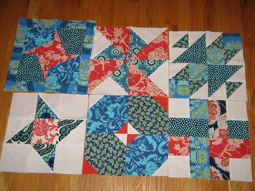 Sew. Happy. Blocks so far