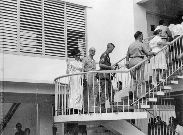 December 1966 - Visit by Madame Nguyen Van Thieu and Madame Nguyen Cao Ky
