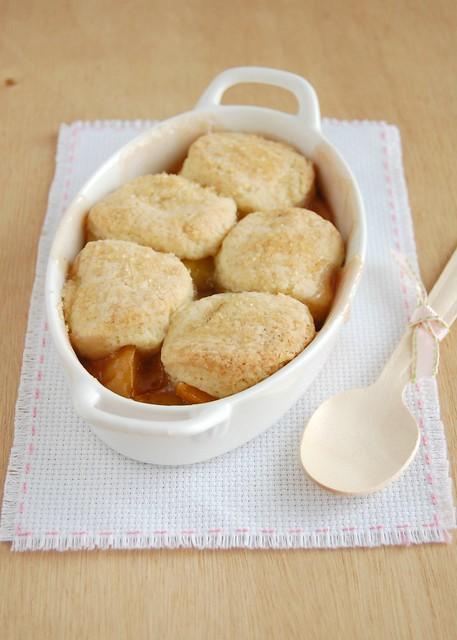 Peach cobbler / Cobbler de pêssego