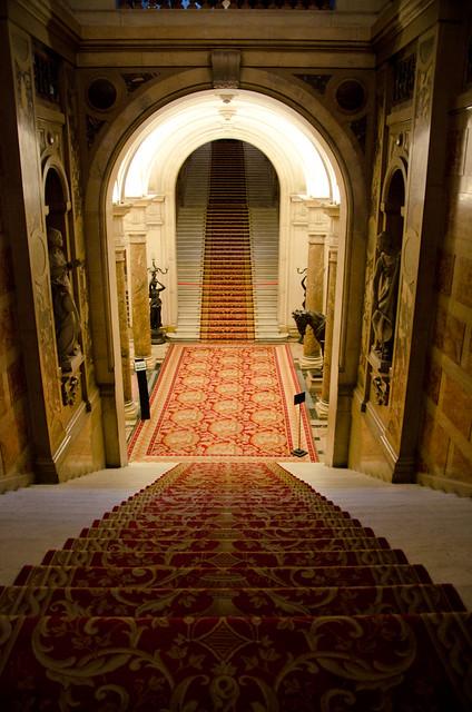 l 39 escalier d 39 honneur l 39 h tel de ville de paris flickr photo sharing. Black Bedroom Furniture Sets. Home Design Ideas