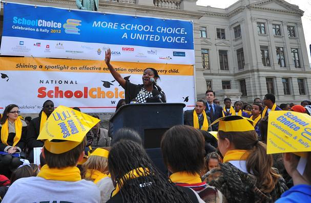 School Choice Week Rally in Atlanta