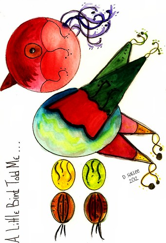 2012 - Valentine Bird 2 by BeverlyDiane
