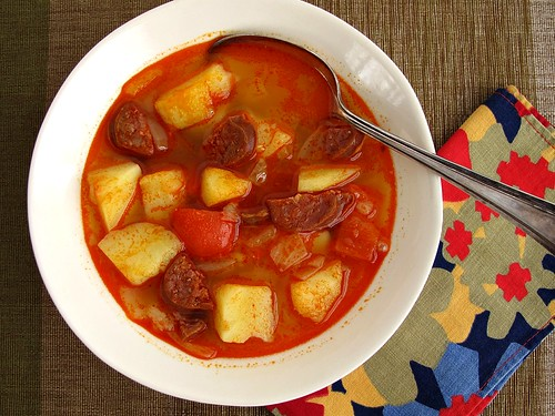 chorizo and potato soup
