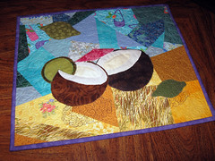 Janice M's Project QUILTING - Making Music Entry 'Lime in the Cocount'