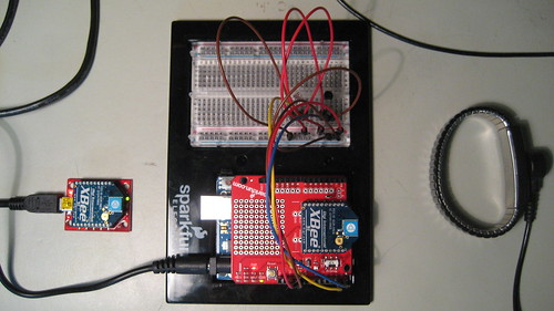 Chip overclock wireless remote sensing with arduino and