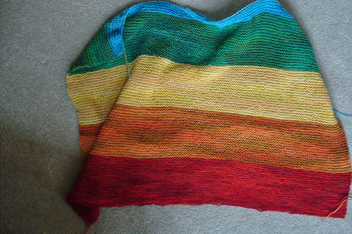 all you need is rainbow by gradschoolknitter