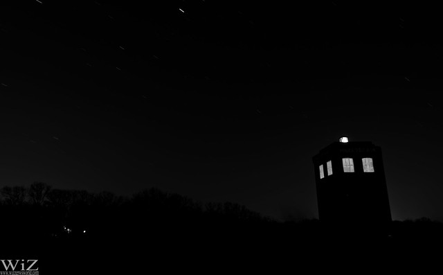 TARDIS at Night