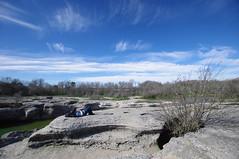 Relaxing at McKinney Falls