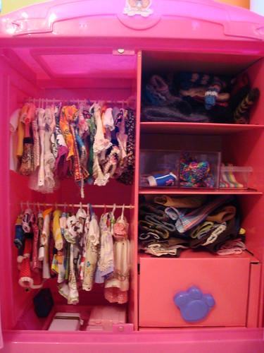 Dolly closet!