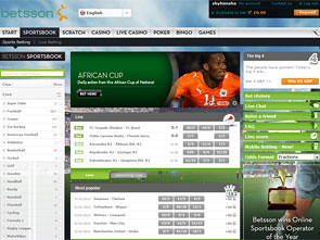 Betsson Sportsbook Home