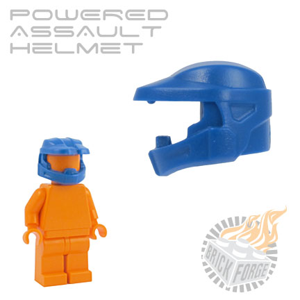 Powered Assault Helmet - Blue