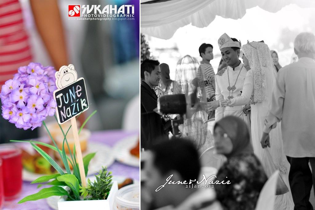 majlis kahwin june