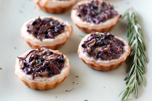 Mini Mushroom Tarts - Completely Delicious